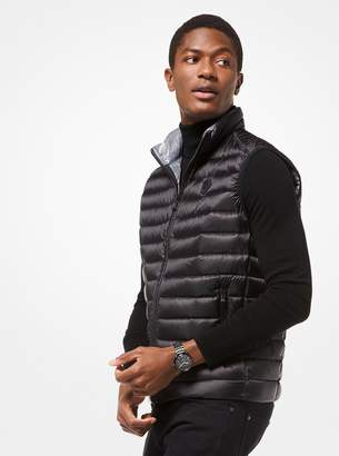 Michael Kors Quilted Nylon Packable Down Vest