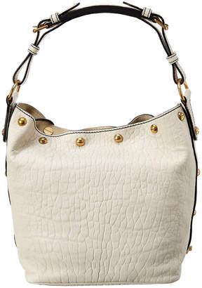 Christian Dior Leather Hobo Bag