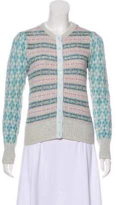Marc Jacobs Long Sleeve Wool Cardigan