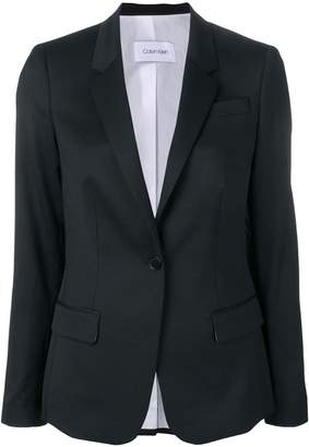 Calvin Klein long sleeved suit jacket