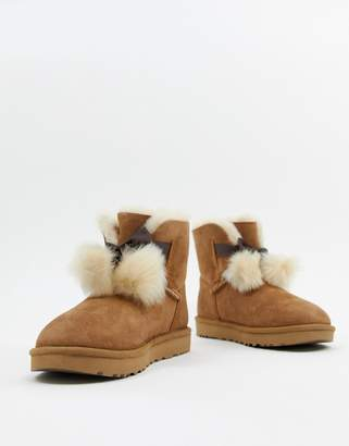 UGG Bow Chestnut Boots