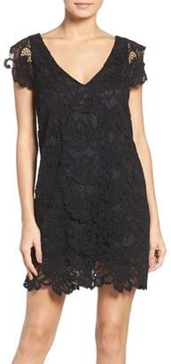 Women's Bb Dakota 'Jacqueline' Lace Shift Dress $88 thestylecure.com