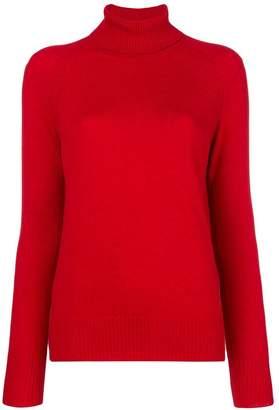 Bottega Veneta turtle-neck fitted sweater