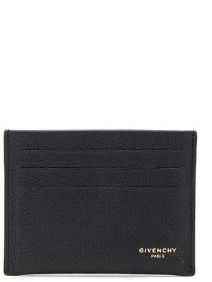 Givenchy Taurillon Leather Card Holder