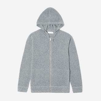 The Waffle-Knit Cashmere Zip Hoodie $165 thestylecure.com