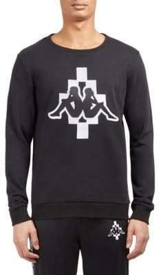 Marcelo Burlon County of Milan Ss-Kappa Crewneck Sweatshirt
