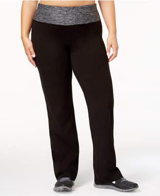 d8a753c3d2d Ideology Plus Size Rapidry Open-Leg Yoga Pants
