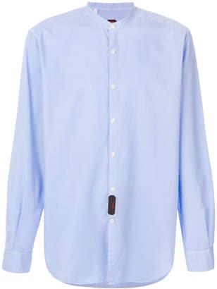 Piombo Mp Massimo mandarin-collar shirt