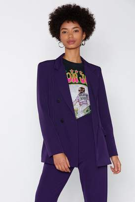Nasty Gal Suiting for You Blazer