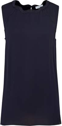 Reiss Helenia - Scallop Detail Top in Navy