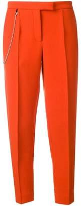 Bottega Veneta chain detail tapered trousers
