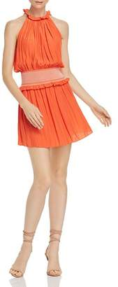 Ramy Brook Blaise Blouson Mini Dress