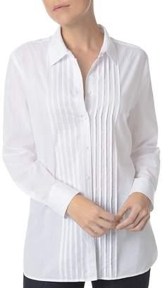 NYDJ Tuxedo-Style Tunic Shirt