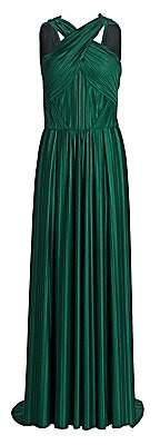 Zac Posen Women's Plissé Jersey Gown