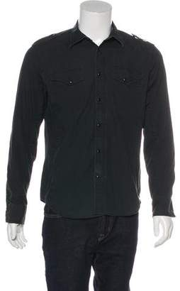 G Star Point Collar Button-Up Shirt