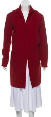 Lanvin Wool & Mohair-Blend Knee-Length Coat