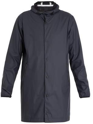 Herno Lightweight Hooded Jacket - Mens - Navy