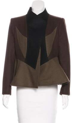 Givenchy Colorblock Wool Jacket