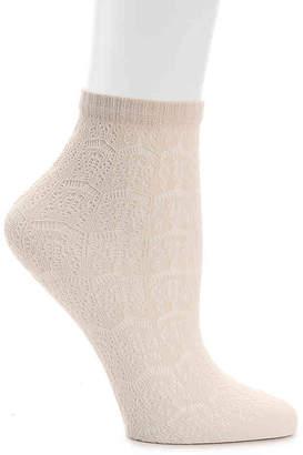 Lemon Lace Ankle Socks - Women's