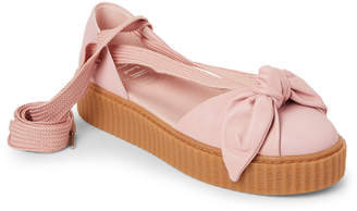 FENTY PUMA by Rihanna Pink Bow Creeper Sandals