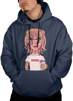 d670d0041fe LAOSHIH Men s Lil Pump Esskeetit Fashion Cotton Drawstring Hoodie XX Large