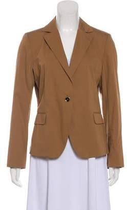 Salvatore Ferragamo Notch-Lapel Long Sleeve Jacket