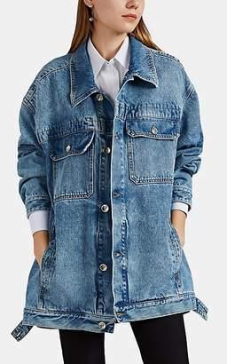 Maison Margiela Women's Oversized Denim Jacket - Dk. Blue