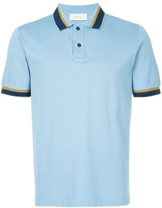 Cerruti contrast trim polo shirt