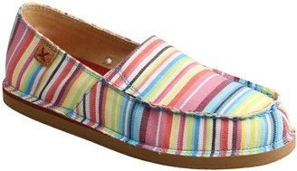 Twisted X Women's Slip-On Fabric Loafers
