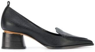 Nicholas Kirkwood 45mm Beya block heel pumps