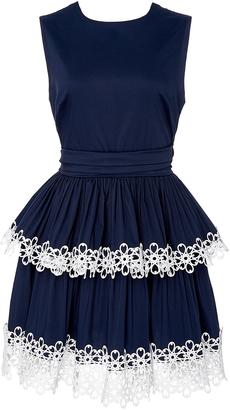 Alexis Desiree Tiered Mini Dress $495 thestylecure.com