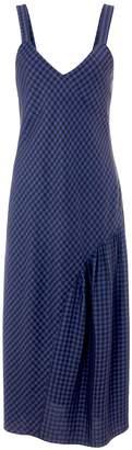 Tibi Gingham Slip Dress