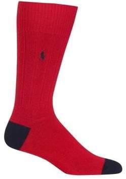 Polo Ralph Lauren Colorblocked Crew Socks