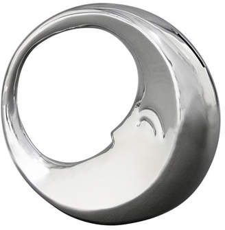 Nambe Sleep Moon Stainless Steel Bank