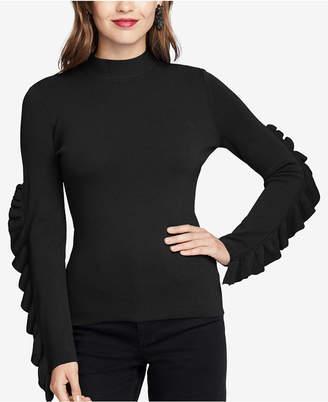 Rachel Roy Callum Ruffled Sweater