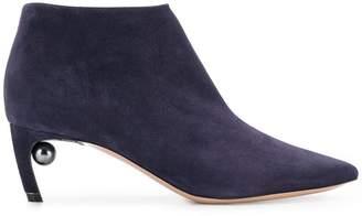Nicholas Kirkwood 55mm Mira Pearl ankle boots