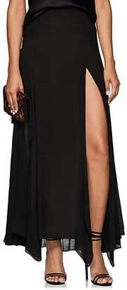 Juan Carlos Obando Women's Cotton-Blend Gauze Slim Skirt - Black