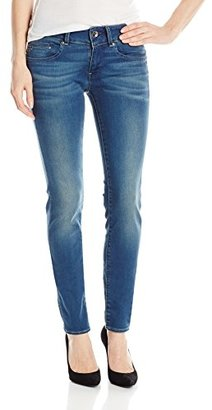 G-Star Raw Women's Midge Cody Midrise Skinny Super Stretch Power Wash Jean $180 thestylecure.com