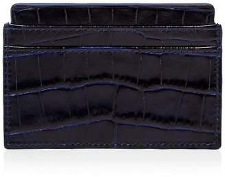 Smythson Mara Printed Calf Leather Card Case