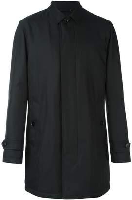 Ermenegildo Zegna zip-up mac coat