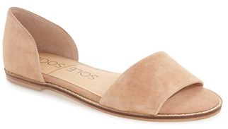 Women's Sole Society 'Harlow' Flat D'Orsay Sandal $69.95 thestylecure.com