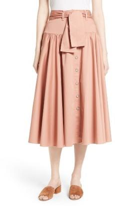 Women's Rebecca Taylor Midi Skirt $325 thestylecure.com