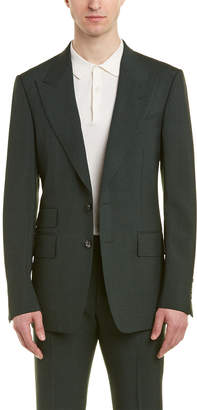 Tom Ford Shelton 2Pc Mohair Suit With Flat Pant