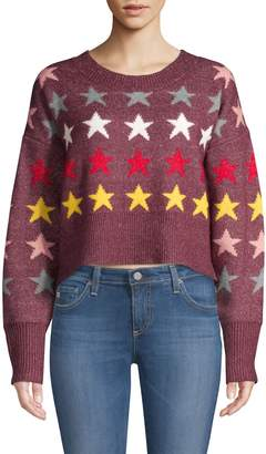 Wildfox Couture Rainbow Star Sweater