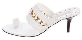 Michael Kors Tamadot Leather Sandals