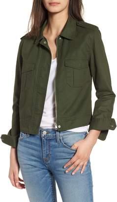 BB Dakota Maddox Cotton Twill Army Jacket