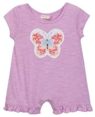 Mimi & Maggie Butterfly Romper (Baby Girls)