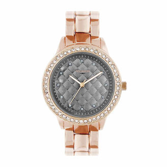 ROCAWEAR Rocawear Womens Rose Goldtone Bracelet Watch-Rl11668rg1-757 $45 thestylecure.com