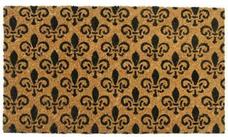 Rubber-Cal, Inc. St. Germaine Fleur de Lis Doormat