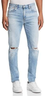 A Gold E AGOLDE Blade Skinny Fit Jeans in Cash Blue